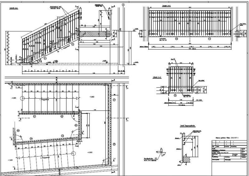 Ingenieurb ro mehn gmbh 54470 lieser beispiele unserer for Stahlbau statik beispiele